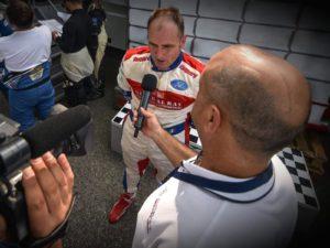 Omar Magliona pronto per il debutto in gara in pista a Magione